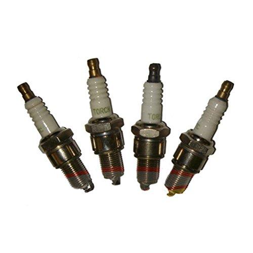 4 Pack Of Honda Spark Plugs Fits Gx120 Gx160 Gx200 Gx240 Gx270 Gx340 Gx390