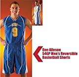 Don Alleson 546P Men's Stock Uniform Reversible Basketball Shorts (Call 1-800-327-0074 to order)