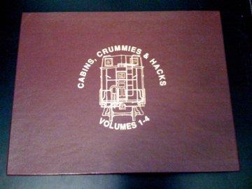 Cabins, Crummies & Hacks (four volume set): vol.1- North & East; vol.2- The South; vol.3- North & West; vol.4- The Southwest. PDF