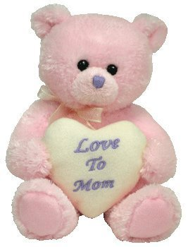 TY Beanie Baby - MOM 2007 the Bear (Internet Exclusive)