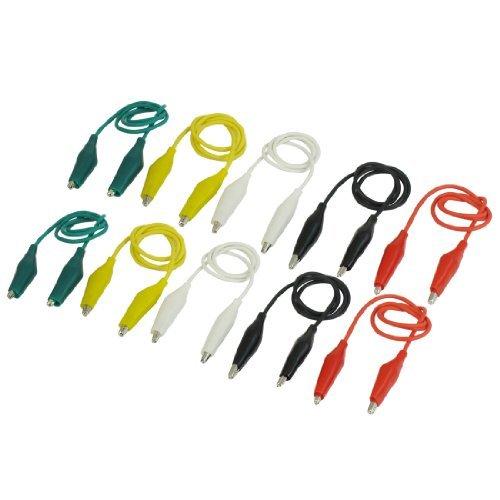 10pcs-double-ended-test-leads-alligator-crocodile-roach-clip-wire-43cm