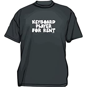 Keyboard Player For rent Kids T Shirt 2T thru Youth XL
