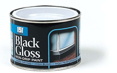 Black gloss paint 180ml