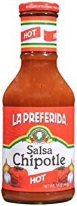 La Preferida Salsa Chipotle Hot 16-ounce Pack Of 12 by Geneva Supply - Grocery