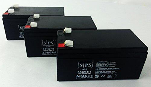 Replacement Battery For Parks Medical Doppler 1059 (Original) - Sps Brand ( 3 Pack )