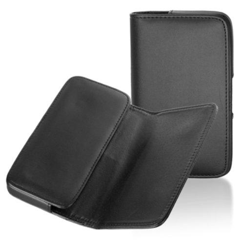 Handytasche Quertasche passend für Phicomm i600 Manoeuvrable Schutz Hülle Slim Case Cover Etui schwarz