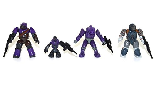 Mega Bloks Halo Minifigure Covenant Grunt Brute Elite Loose Action Figure