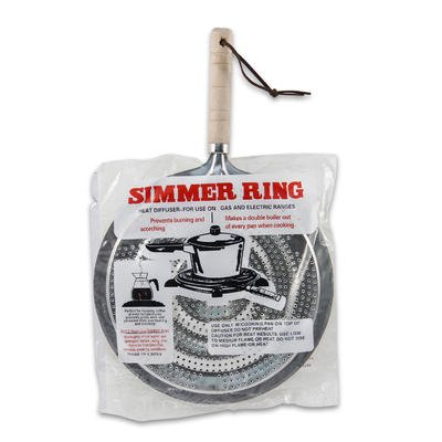 Simmer-Ring-Burner-Heat-Diffuser-for-Gas-or-Electric-Stove,-8.25-Inches