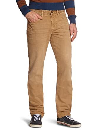 Mexx - Jean - Coupe Droite - Homme - Beige (282) - FR : 32W (Taille fabricant : 32)