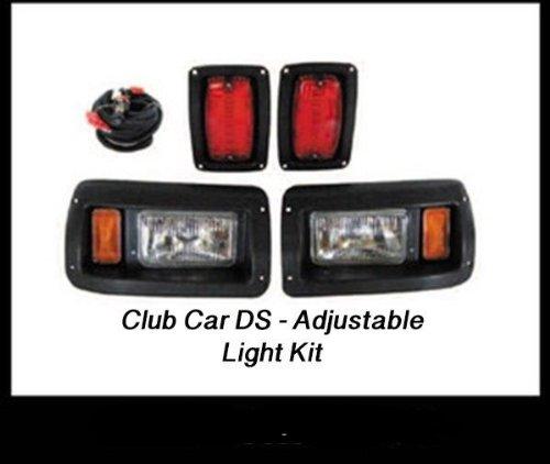 New Club Car Ds Headlight & Tail Light Kit 1982 & Up Golf Cart Lights