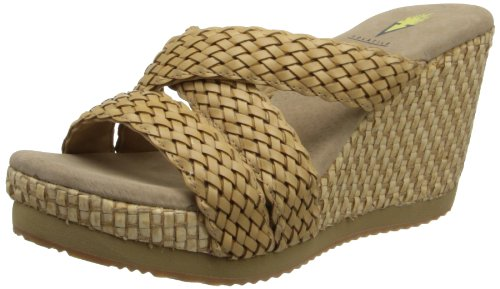 Volatile Women'S Eloise Wedge Sandal,Tan,8 B Us front-449147