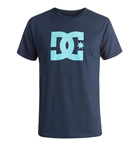 dc-shoes-star-t-shirt-manches-courtes-homme-bleu-blue-iris-blue-topas-small-taille-fabricant-s