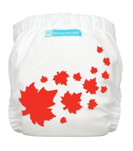 Charlie Banana 2 in 1 One Size Hybrid Cloth Diaper - Maple Leaf