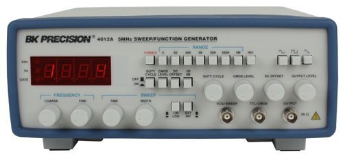 B&K Precision 4012A Sweep Function Generator, 4 Digit Led, 0.5 Hz To 5 Mhz Frequency Range