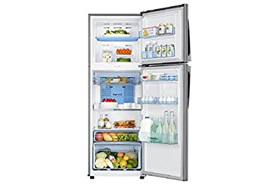 Samsung RT37K3993SZ Frost-free Double-door Refrigerator (340 Ltrs, 3 Star Rating, Tender Lily Silver)