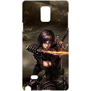 a AND b Designer Printed Mobile Back Cover / Back Case For Samsung Galaxy Note 3 (SG_N3_3D_2093)