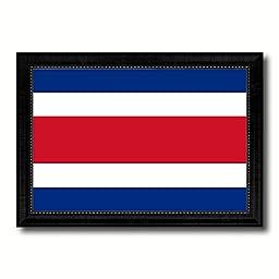 Costa Rica National Country Flag Print On Canvas Design Primitive Wall Art Home Decor Office Interior Souvenir Gift Ideas, 23\
