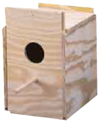 Ware Manufacturing Wood Cockatiel Regular Nest Box, Tiel