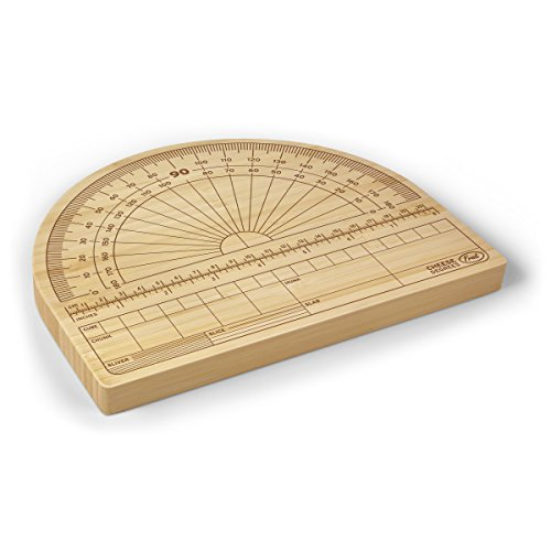 Fred CHEESE DEGREES Bamboo Cutting Board (Cutting Board For Cheese compare prices)