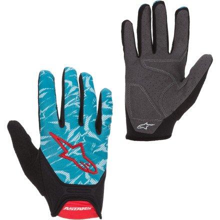 Buy Low Price Alpinestars Aero Gloves black/green/black (B008H5EWFY)