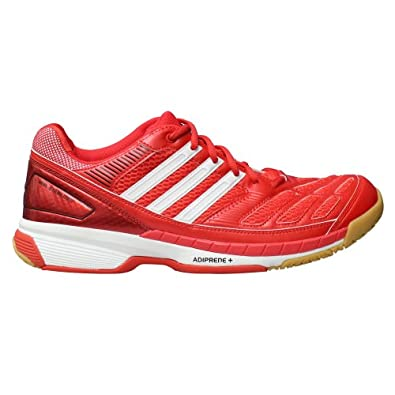 Adidas Badminton Feather Court Shoes - 9.5 - Red