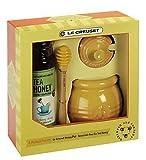 Le Creuset Stoneware Honey Pot with Savannah Bee Co. Honey