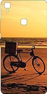 Go Hooked Designer Soft Back cover for Vivo V3