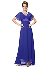 HE09890SB12, Sapphire Blue, 10US, Ever Pretty Cocktail Dresses For Wedding 09890