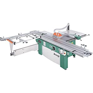 Grizzly SSA-320G 3-Phase Sliding Table Saw, 10 HP, 14-Inch
