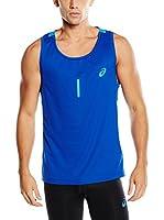 Asics Camiseta Tirantes Singlet (Azul)