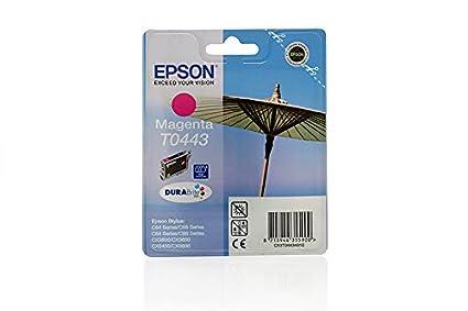Epson Stylus C 66 Photo Edition - Original Epson C13T04434010 / T0443 - Cartouche d'encre Magenta -