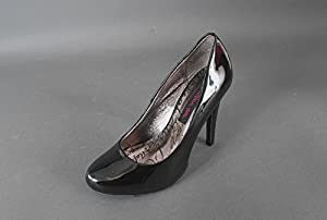 Material Girl 1014SHO81 Black Heels Pumps Women Shoes 5 M NEW
