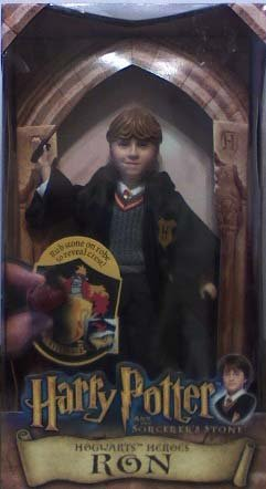 Picture of Mattel Harry Potter and the Sorcerer's Stone: Hogwarts Heroes, Ron Figure (B000WV7OKG) (Harry Potter Action Figures)
