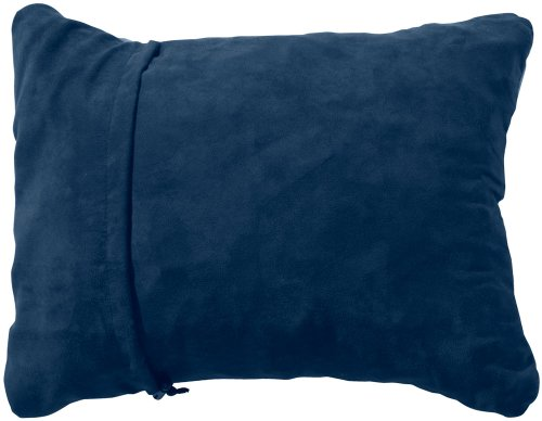 Thermarest Compressible Pillow, Denim, Small front-1022148