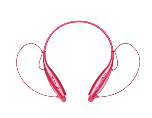 LG Electronics Tone+ HBS-730 Bluetooth Headset - Retail Packaging - Pink (Color: Pink, Tamaño: Bluetooth 3.0)