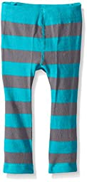 Trumpette Baby Panda Grey Stripe Leggings, Multi, 6-12 Medium