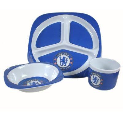 Chelsea Fc Official Baby Dinner Set