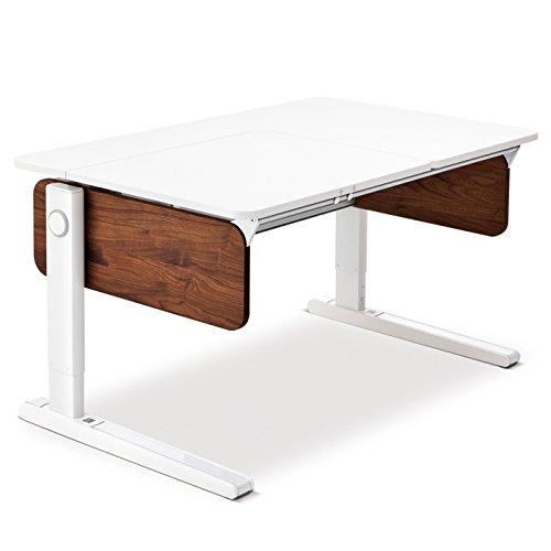 Moll Champion Style Front Up Schreibtisch | Nussbaumdekor | 120 x 72 x 53-82 cm (Breite x Tiefe x Höhe) | höhenverstellbar online kaufen