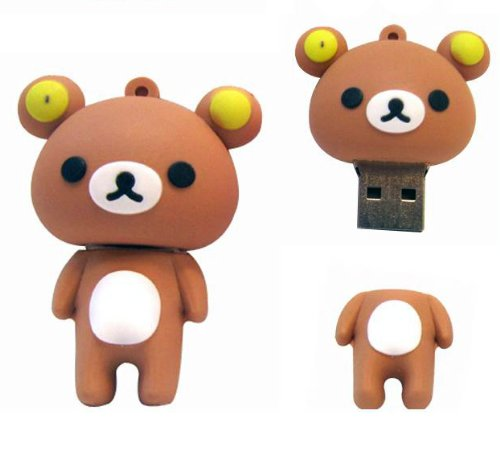 ricco-16-gb-silicone-bear-usb-20-high-speed-flash-drive-with-shock-proof-for-windows-and-mac-os-brow