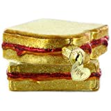 Old World Christmas Peanut Butter & Jelly Sandwich Ornament