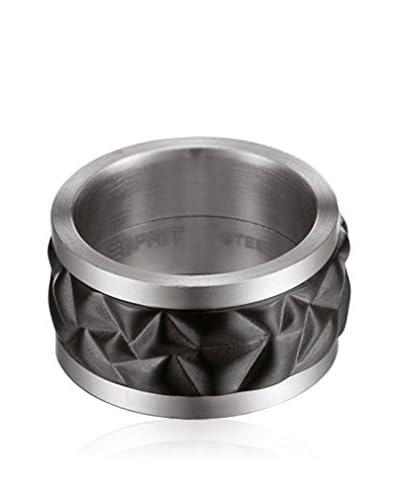 Esprit Steel Anillo Brick
