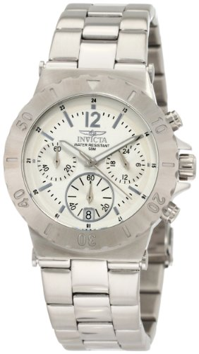 invicta womens 1275 ii collection chronograph stainless steel