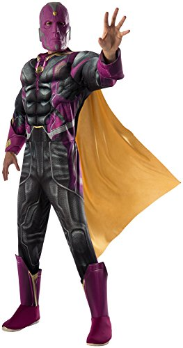 Rubie's Costume Co Men's Avengers 2 Age Of Ultron Deluxe Adult Vision Costume