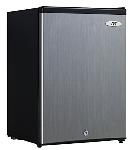 SPT UF-214SS Energy Star Upright Freezer 2.1 Cubic Feet ... on