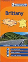 Michelin Brittany, France (Michelin Maps) (Multilingual Edition)