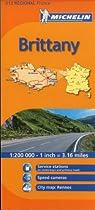 Michelin Brittany, France (Michelin Maps) (Multilingual Edition)