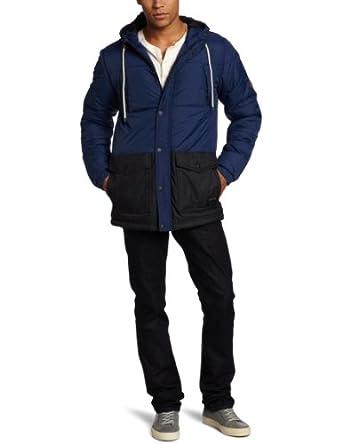 Quiksilver Men's Side Swipe Jacket, Blue, XX-Large