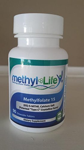 Methylfolate 15 - L-5-Mthf, Calcium Salt (15 Mg Per Tablet) - [90 Chewable Tablets]