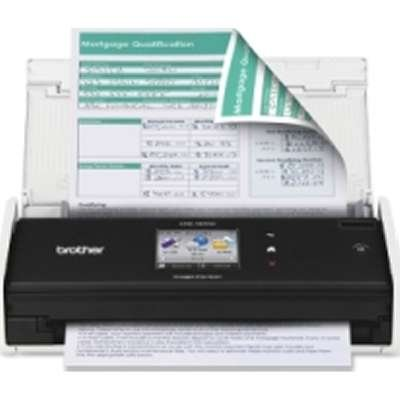 Brother ADS-1500W ImageCenter ADS1500W Compact Color Desktop Scanner with Duplex & Web Connectivity (Scanner Brother Ads 1500 compare prices)
