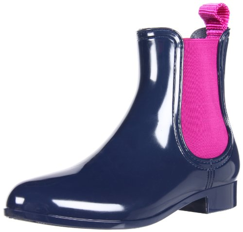 Juicy Couture Women's Harper Whale Blue Ankle Boots J1516000 3 UK, 6 US